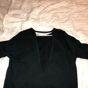 Nike Open back crew neck sweatshirt